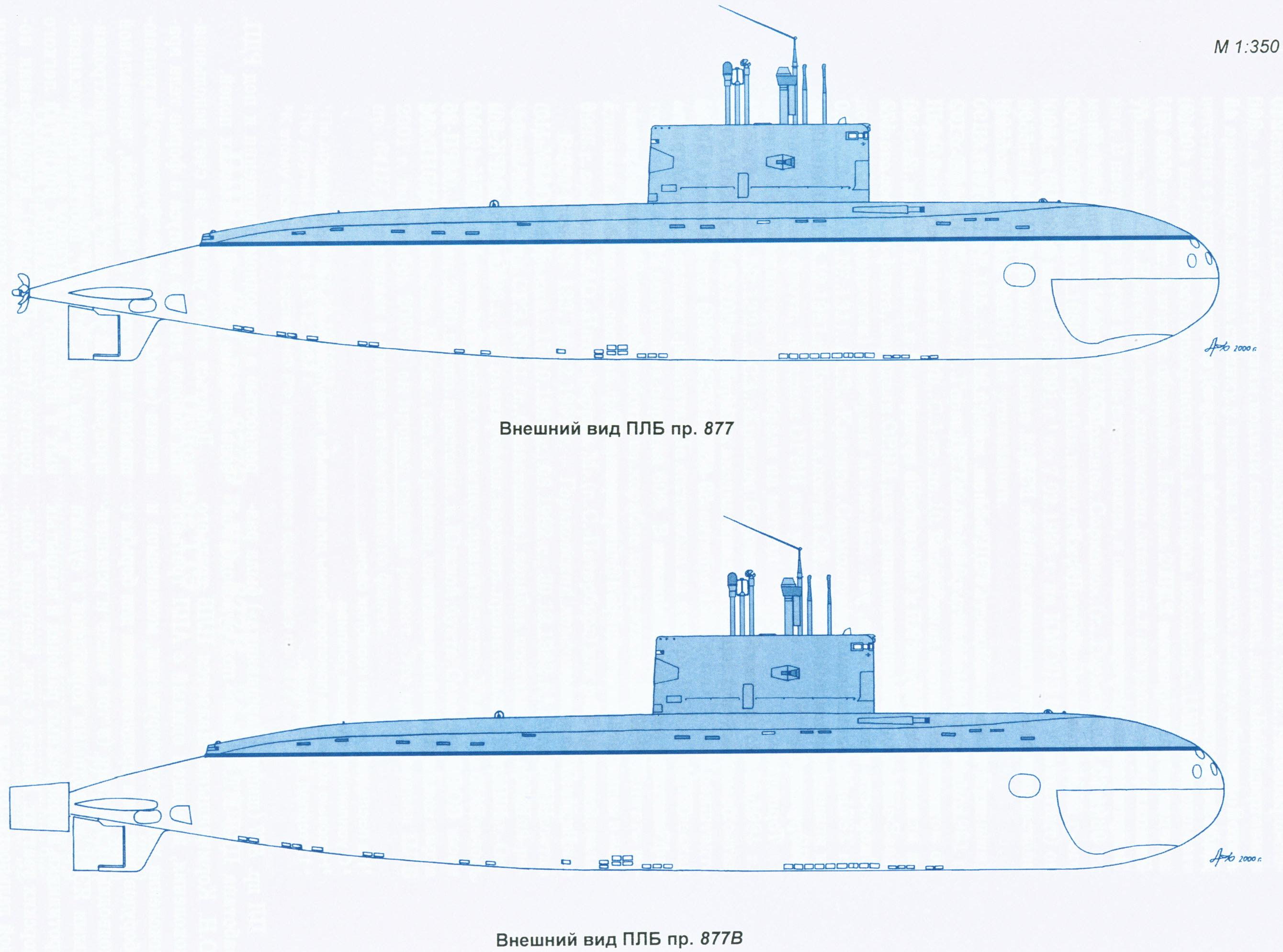 подводных лодок проекта 877 экм