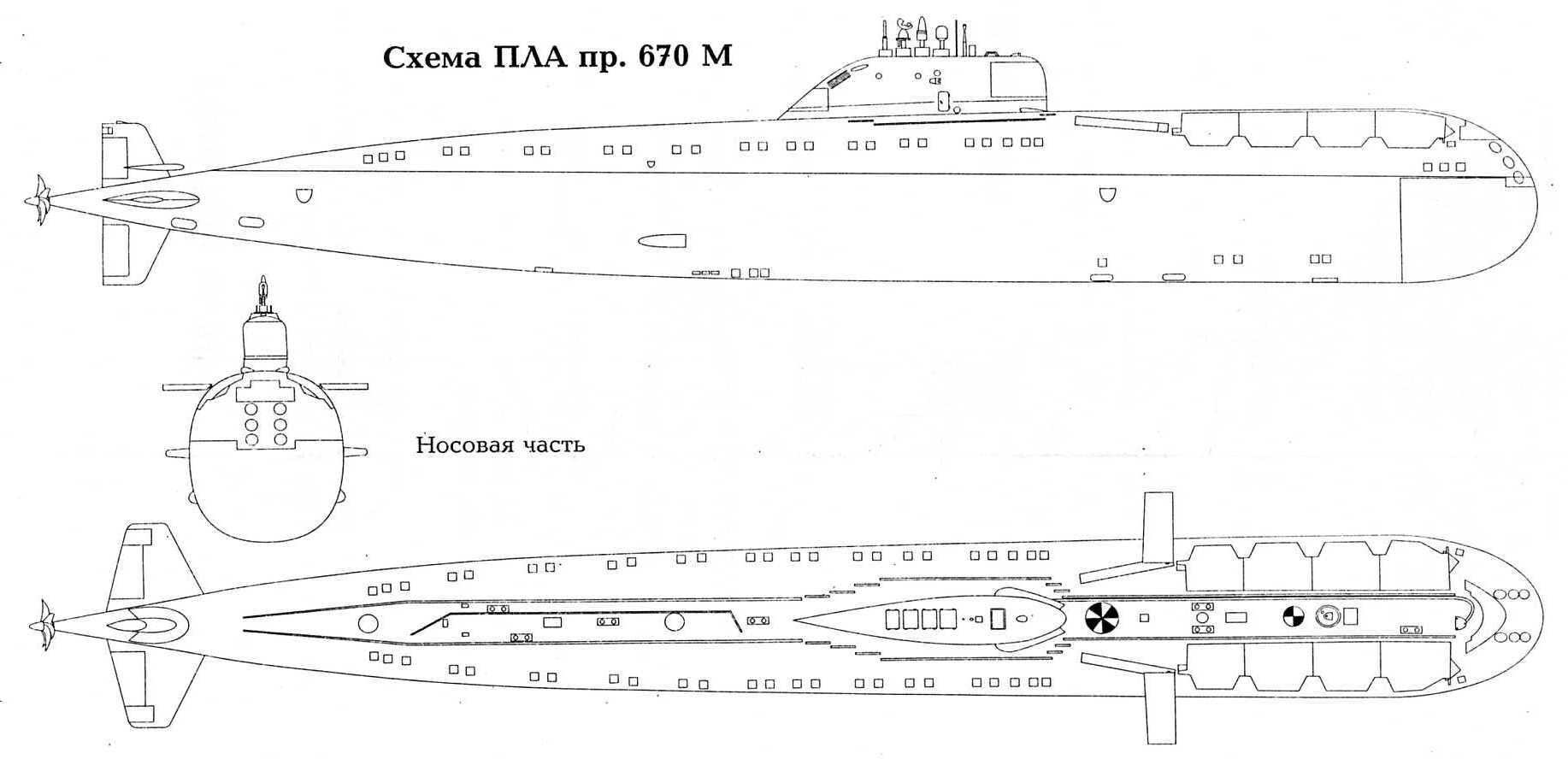 Схема работы подводной лодки